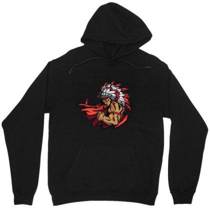 American Indian Art Unisex Hoodie Designed By Chiks