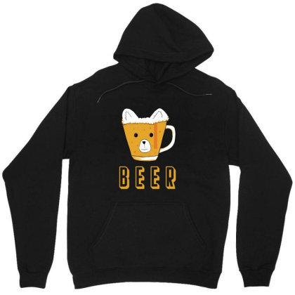 Beer Bear Kawaii Unisex Hoodie Designed By Cypryanus
