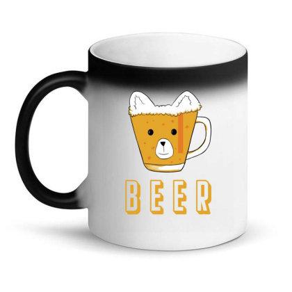 Beer Bear Kawaii Magic Mug Designed By Cypryanus