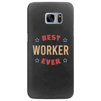 Best Worker Ever Samsung Galaxy S7 Edge Case Designed By Cypryanus