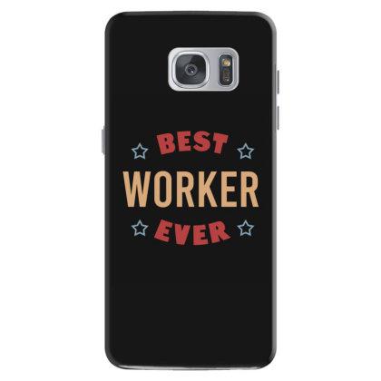Best Worker Ever Samsung Galaxy S7 Case Designed By Cypryanus