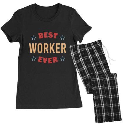 Best Worker Ever Women's Pajamas Set Designed By Cypryanus