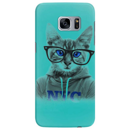 Smarty Cat Of Nyc Samsung Galaxy S7 Edge Case Designed By Chiks