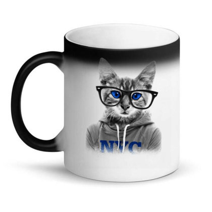 Smarty Cat Of Nyc Magic Mug Designed By Chiks