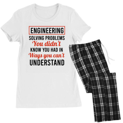 Engineering Solving Problems You Didn't Know You Had In Ways You Can't Women's Pajamas Set Designed By Cypryanus