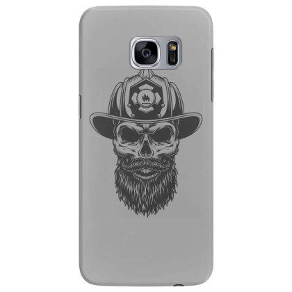 Fireman Skull Samsung Galaxy S7 Edge Case Designed By Estore