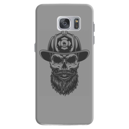 Fireman Skull Samsung Galaxy S7 Case Designed By Estore
