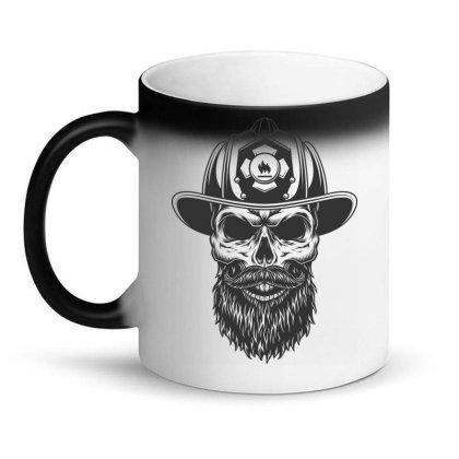 Fireman Skull Magic Mug Designed By Estore