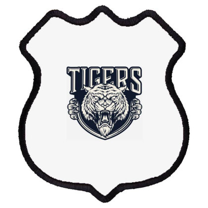 Tiger Shield Patch Designed By Estore