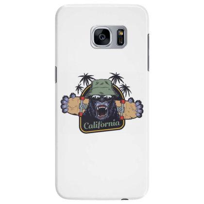 California, Gorilla, America, Usa Samsung Galaxy S7 Edge Case Designed By Estore