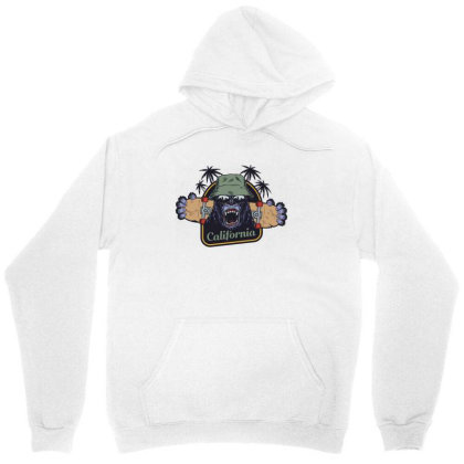 California, Gorilla, America, Usa Unisex Hoodie Designed By Estore
