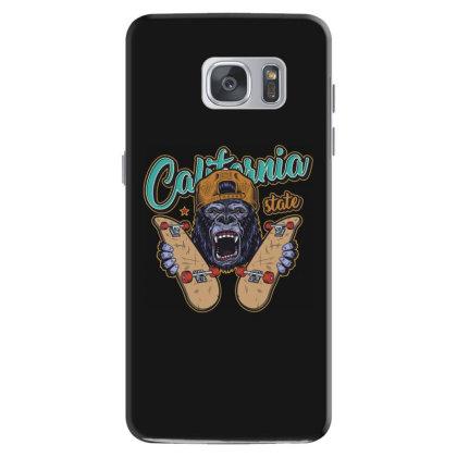 California, Gorilla, United States Of America, Usa Samsung Galaxy S7 Case Designed By Estore