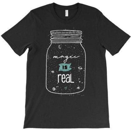 Magic Is Real Cute Gift T-shirt Designed By Koalastudio