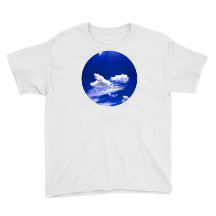 Blue Sky Youth Tee Designed By Mpart10