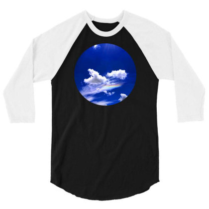 Blue Sky 3/4 Sleeve Shirt Designed By Mpart10