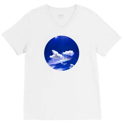 Blue Sky V-neck Tee Designed By Mpart10