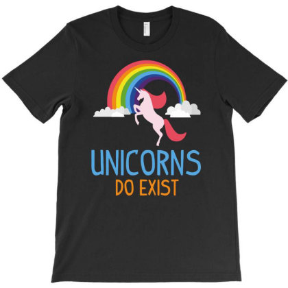 Unicorns Do Exist Funny T-shirt Designed By Anma4547
