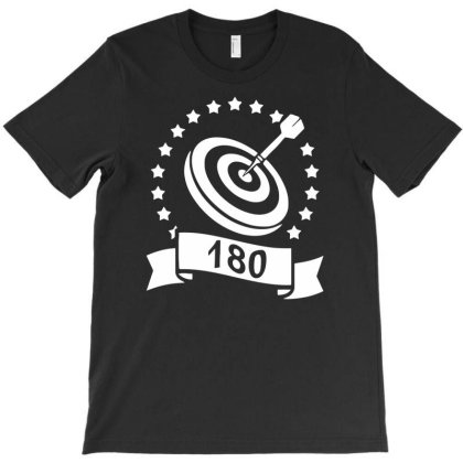 Darts 180 Funny T-shirt Designed By Anma4547