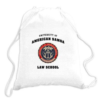 Samoa Law School Logo Drawstring Bags Designed By Adore