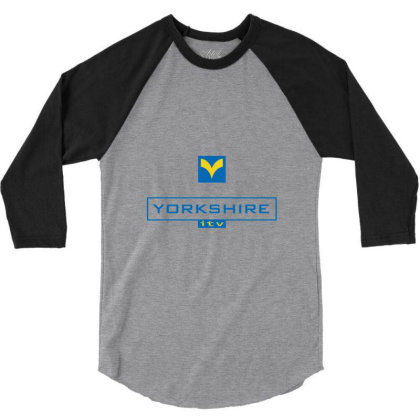 Yorkshire Tv Channel 3/4 Sleeve Shirt Designed By Adore