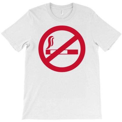 No Smoking T-shirt Designed By Anma4547