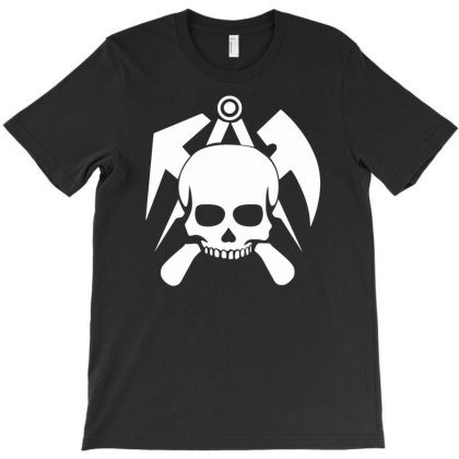Roofing Skull T-shirt Designed By Anma4547