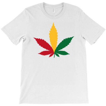 Weed Plant T-shirt Designed By Anma4547