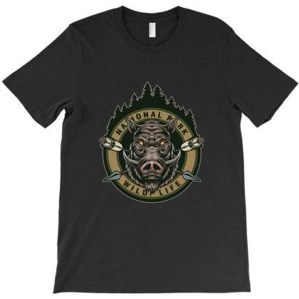 National Park, Wild Life T-shirt Designed By Estore