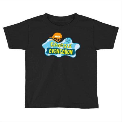 Neon Genesis Evangelion Toddler T-shirt Designed By Ww'80s