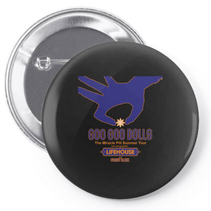 Goo Goo Dolls, Lifehouse, Forest Blakk   The Miracle Pill Summer Tour Pin-back Button Designed By Aldo101090