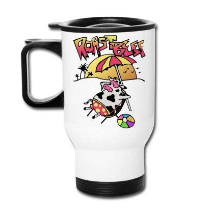 Roast Beef   Dustin Travel Mug Designed By Ww'80s