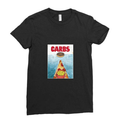 Carbs Ladies Fitted T-shirt Designed By Cuser4095