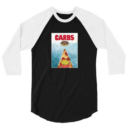 Carbs 3/4 Sleeve Shirt Designed By Cuser4095