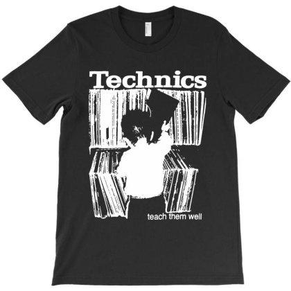 Technics T-shirt Designed By Ww'80s