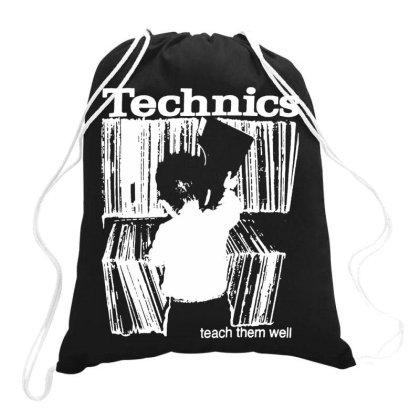 Technics Drawstring Bags Designed By Ww'80s
