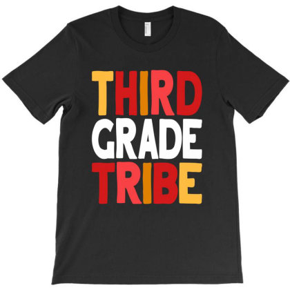 3rd Third Grade Tribe Teacher Back To School T-shirt Designed By Cidolopez