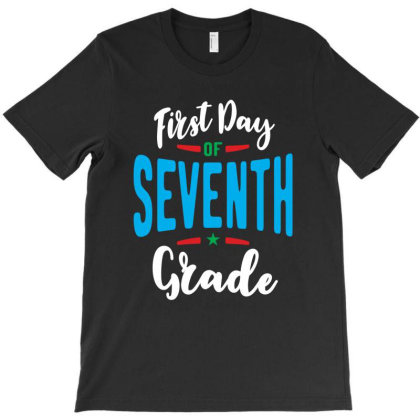 First Day Of 7th Seventh Grade Teacher Back To School T-shirt Designed By Cidolopez