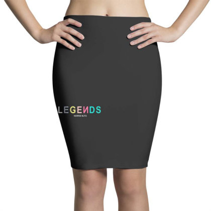 Norris Nuts Legend Pencil Skirts Designed By Ww'80s