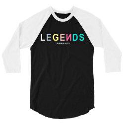 norris nuts legend 3/4 Sleeve Shirt | Artistshot