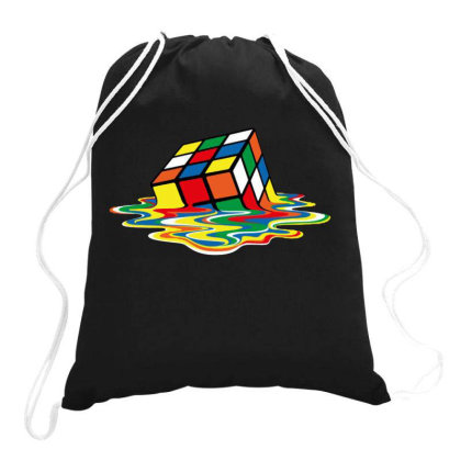 Rubik's Cube Cool Drawstring Bags Designed By Ww'80s