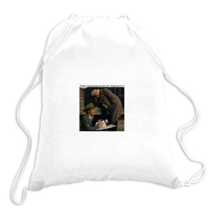 The American Friend Drawstring Bags Designed By Gills870101
