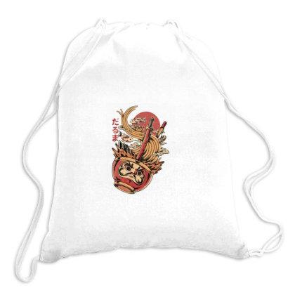 Sushi Ramen Mie Drawstring Bags Designed By Laina Melati