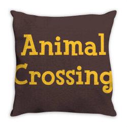 animal crossing game logo Throw Pillow | Artistshot