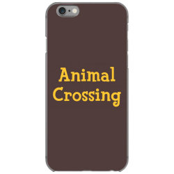 animal crossing game logo iPhone 6/6s Case | Artistshot
