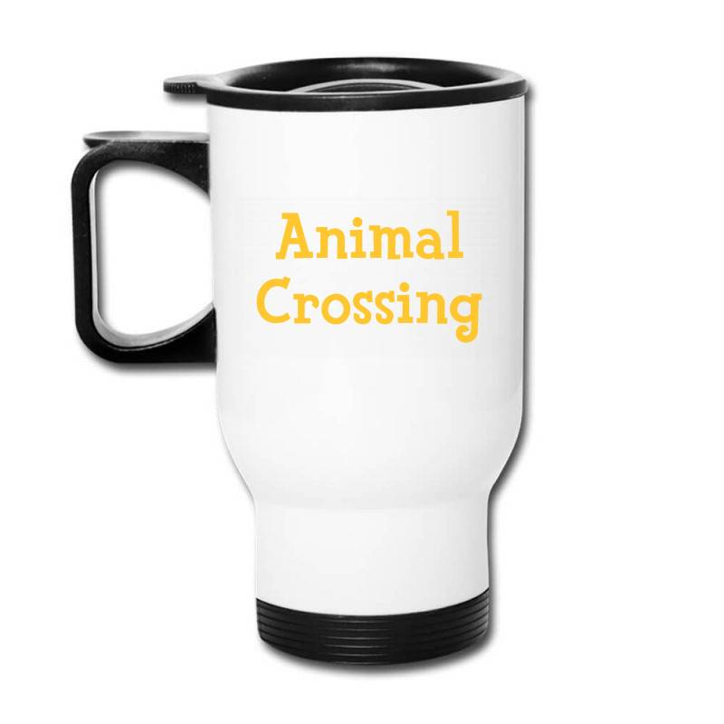 Animal Crossing Game Logo Travel Mug | Artistshot