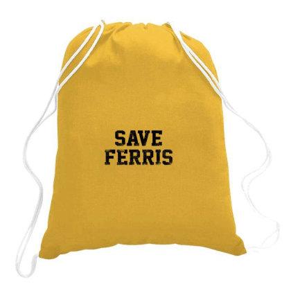 Ferris Bueller Drawstring Bags Designed By Laina Melati