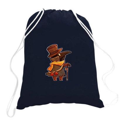 Plague Doctor Bird Drawstring Bags Designed By Laina Melati