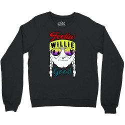 feeling willie good Crewneck Sweatshirt | Artistshot