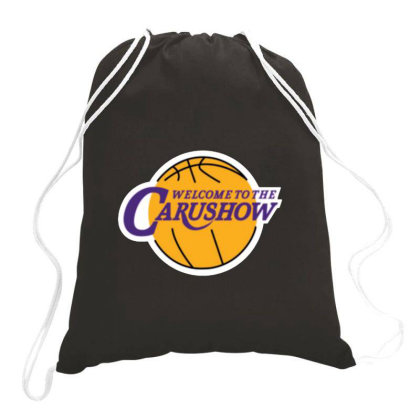 Carushow Logo Drawstring Bags Designed By Jarl Cedric