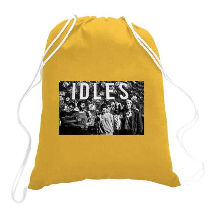Idles Drawstring Bags Designed By Jarl Cedric